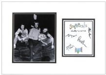 Genesis Autograph Signed Display